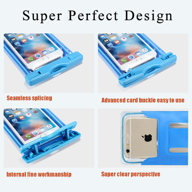 Waterproof Case Diving Arm Bag Phone Underwater Pouch For Acer Jade Z S Primo Z530S S500 Case For Acer Liquid C1 X1 PVC Seal Bag