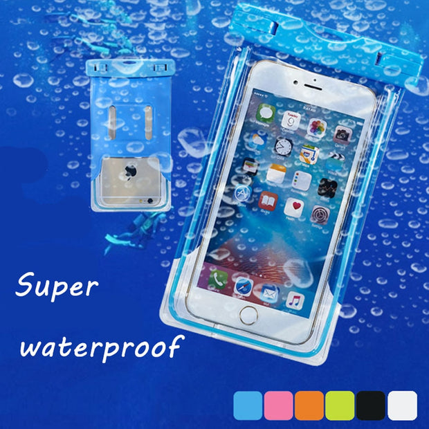 Waterproof Case For Homtom HT20 Pro HT7 Pro S8 S7 S16 S9 Plus Cover Snow Protection Fundas Dry Bag Touch Screen Underwater Cases