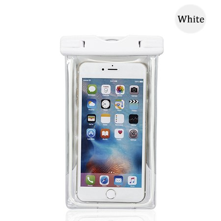 Clear cover white