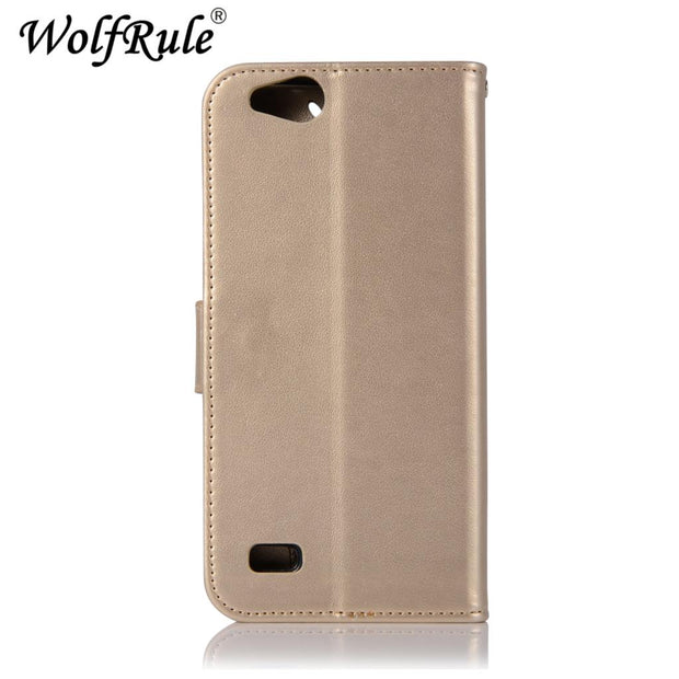 WolfRule For Cover ZTE Tempo X N9137 Case Flip Leather Case For ZTE