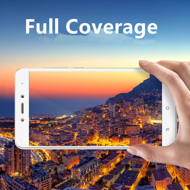 Xinchentech Full Coverage For Xiaomi Redmi Note 4 Case Glass Film 9H Screen Protector Cover For Redmi Note4 Pro Global Version