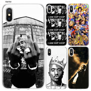 YAETEE 2Pac Tupac Amaru Shakur Silicone Case Cover Hull Shell For Apple IPhone 7 8 6 6s Plus X 5 5S SE 5C