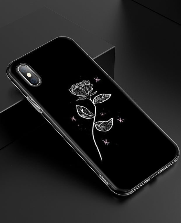 YAETEE Abstract Line Face Graphic Silicone Case Cover Hull Shell For Apple IPhone 7 8 6 6s Plus X 5 5S SE 5C