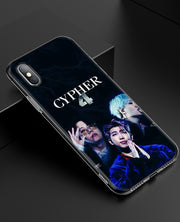 YAETEE BTS Rapmon Silicone Case Cover Hull Shell For Apple IPhone 7 8 6 6s Plus X 5 5S SE 5C