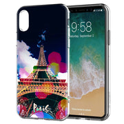 YAETEE France Paris The Eiffel Tower Romantic Silicone Case Cover Hull Shell For Apple IPhone 7 8 6 6s Plus X 5 5S SE 5C