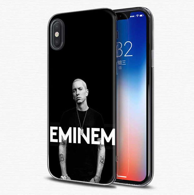 d0743293209 YAETEE Hip Hop Rapper Eminem Rap Silicone Case Cover Hull Shell For Apple IPhone  7 8 6 6s Plus X 5 5S SE 5C