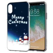 YAETEE Merry Christmas Happy New Year Silicone Case Cover Hull Shell For Apple IPhone 7 8 6 6s Plus X 5 5S SE 5C