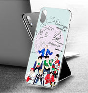 YAETEE Monsta X KPOP Boy Group Silicone Case Cover Hull Shell For Apple IPhone 7 8 6 6s Plus X 5 5S SE 5C