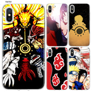 YAETEE Naruto Kakashi Sasuke Silicone Case Cover Hull Shell For Apple IPhone 7 8 6 6s Plus X 5 5S SE 5C