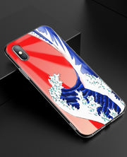 YAETEE Sea Wave Art Spray Silicone Case Cover Hull Shell For Apple IPhone 7 8 6 6s Plus X 5 5S SE 5C
