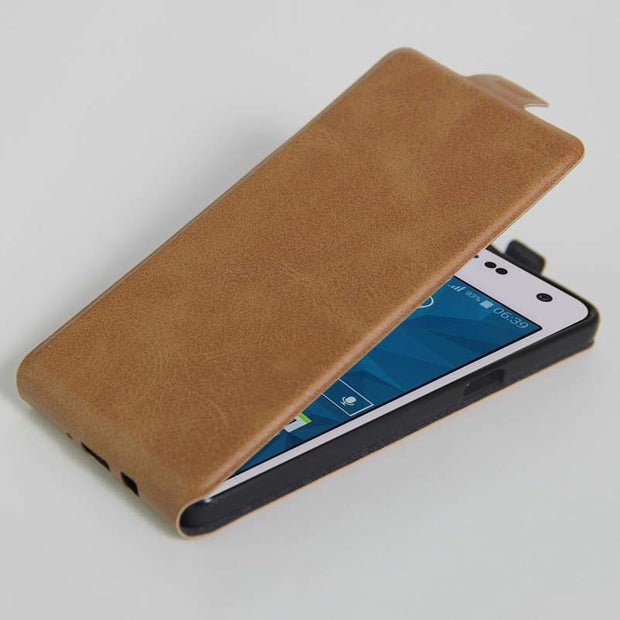 YINGHUI Waist Pouch Magnetic Wallet PU Leather Case For Samsung Galaxy A5 2015