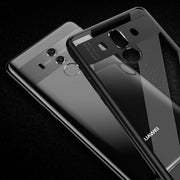 YISHANGOU Luxury Hard PC Full Protect Transparent Case For Huawei P8 P9 Lite P10 Plus Mate10 Lite Maimang6 Enjoy7 Honor8 Cover