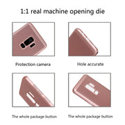 YISHANGOU Luxury Hollow Breathable Cooling Matte Phone Case For Samsung Galaxy S9 S9Plus Slim Hard PC Plastic Anti-skid Cover