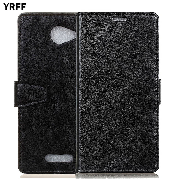 YRFF Case For Alcatel Pop 4S Classic PU Leather Phone Case Cover For Alcatel Pop 4 Plus Phone Holster