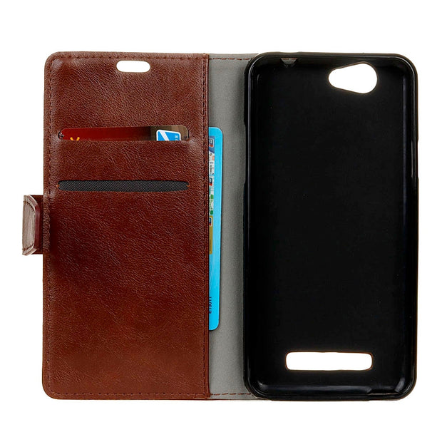 YRFF Case For Wileyfox SPARK Plus SPARK X Classic Flip Leather Phone Cases Cover For Wileyfox Swift 2 2X Phone Wallet Holster