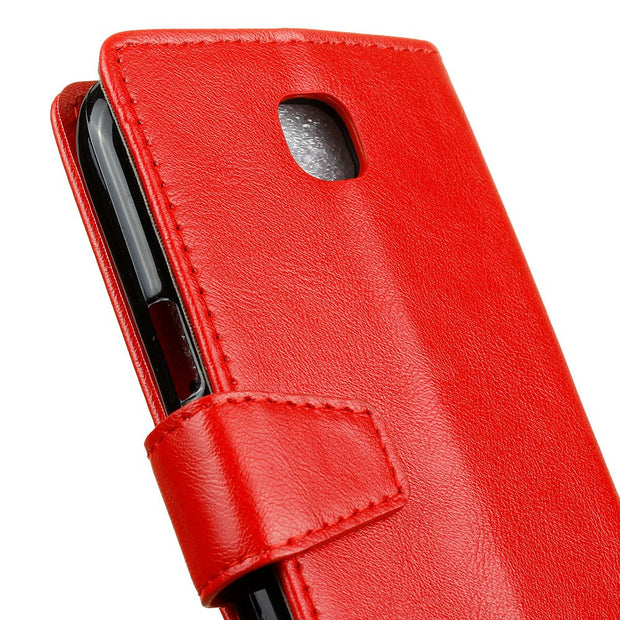 YRFF Fashion Classic Leather Flip Phone Case Cover For LG K3 4G Case For K3 3G Phone Holster
