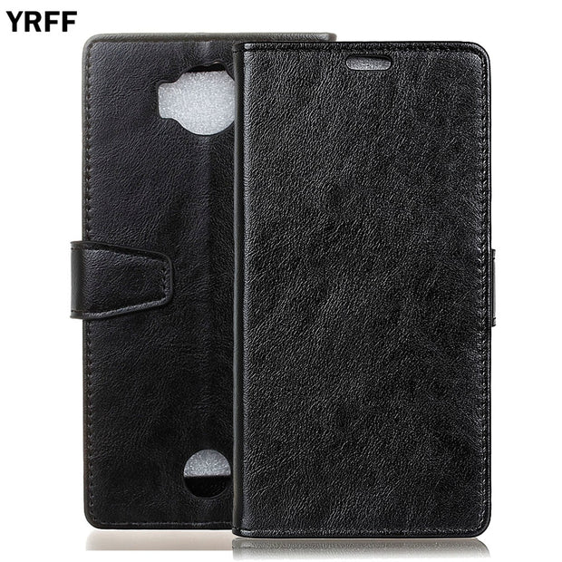 YRFF Fashion With Card Pocket PU Flip Leather Phone Cover For ACER Liquid Jade Primo Wallet Case