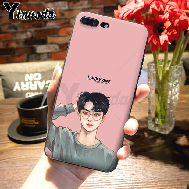 Yinuoda Kpop Exo Lucky One New High Quality Multi Colors Luxury Case F Nox Cases