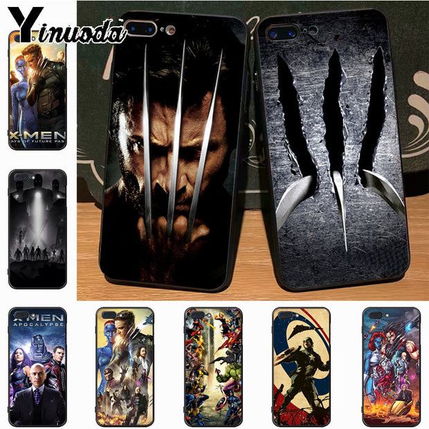 Yinuoda X-Men New ArrivalFashion Phone Case Cover For IPhone 7plus X 6 6S 7 8 8Plus 5 5S Case