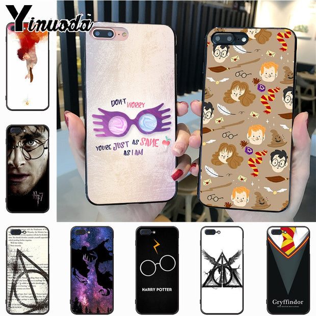 Yinuoda Harry Potter Dream Magic Diy Cell Phone Protective Case For Iphone 7plus 6s 6plus 7 8 8plus X Xs Xr Xs Max 5 Case Cover