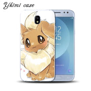 Ykimi Case For Samsung J3 J5 J7 2017 Eurasian Version J3 J4 J6 J8 2018 Case Cute Cartoon Pokemon Cover Soft TPU Silicone Capa