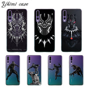 Ykimi Case Transparent Soft TPU Silicone Black Panther Cover For Huawei P8 P9 P20 Lite 2017 P20 Pro Case