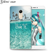 Ykimi Case Beautiful Scenery Cover For Xiaomi Redmi 4x 4a 5 Plus 5a 6 Pro Note 4x 5 Pro 5a Case Transparent Soft TPU Silicone