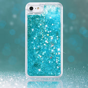 Yokata Glitter Case For IPhone 7 7 Plus Case Shining Quicksand Luxury Transparent Hard PC For Women Cover For IPhone7 Plus Capa