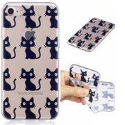 Black Cat Or The Other 12 Beautiful Pattern TPU Phone Case For Redmi PRO&Pro 5.5&NOTE3&3S&Pro 3S&Note 4 Cute Pattern Phone Case