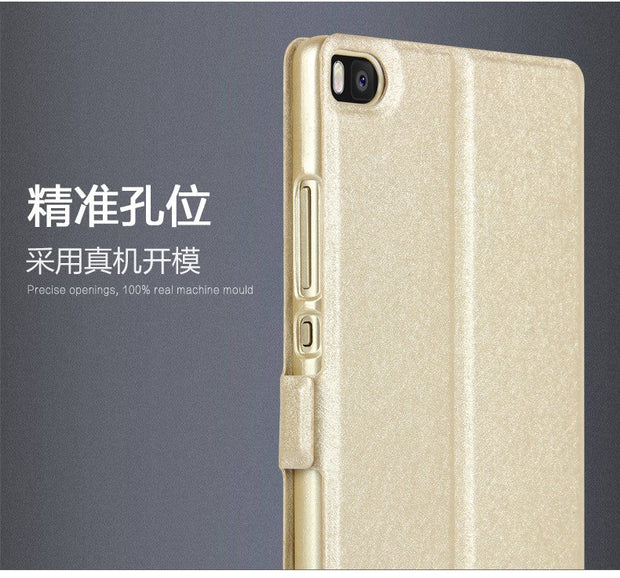 Coque Mobile Phone Fundas Case For Ascend Huawei P8Lite Case For Huawey P8 Flip Leather Cover Case For Hawei P8 Lite 2017 Luxury