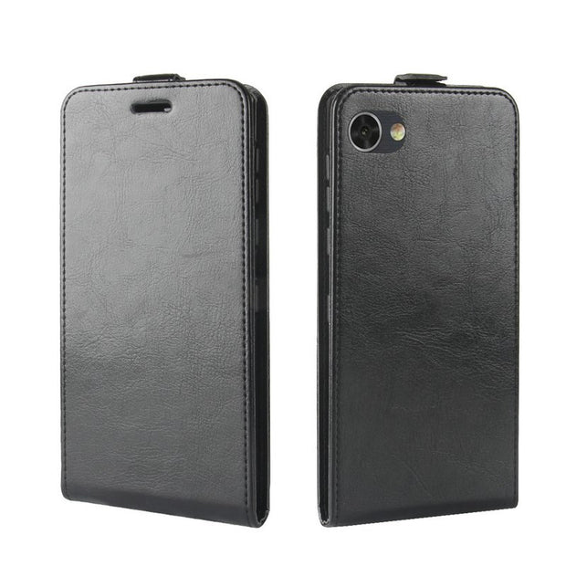 "For BlackBerry Motion WIERSS Flip Leather Case For BlackBerry Motion 5.5"" Retro Wallet Case Leather Cover Cases>"