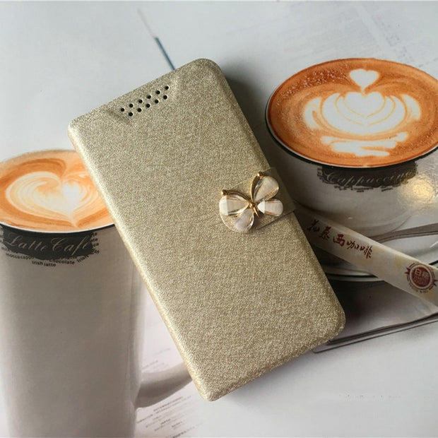 For Google Pixel 2 Case Luxury Silk Leather Wallet Cover For Google Pixel 2 Case With Card Holder Coque