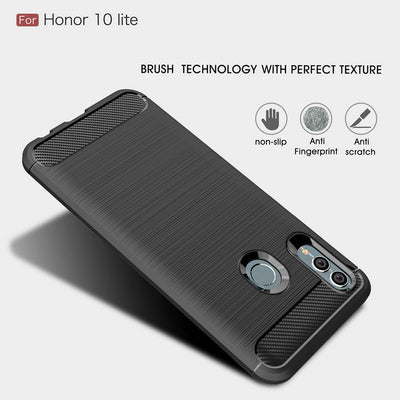 For Huawei Honor 10 Lite HRY-LX2 Shockproof Phone Case Cover For Huawei Honor View 10 Lite JSN-L21 Slim Armor Case Back Cover