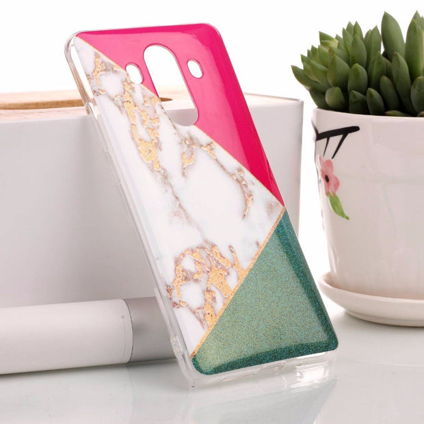 For Huawei Mate 10 Pro Phone Case 6.0 For Huawei Mate 10 Pro Ultra Thin Cover Case Silicon Back Covers Marble TPU Soft