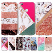 For Huawei P9 Lite 2017 Phone Case 5.2 For Coque Huawei P8 Lite 2017 Ultra Thin Cover Case Silicon Back Covers Marble TPU Soft