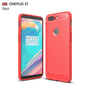 "For OnePlus 5T A5010 For OnePlus 6 Shockproof Leather Case For OnePlus 5 A5000 5.5"" Phone Back Cover Slim Armor Case"