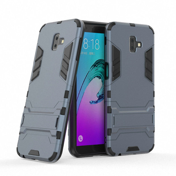 For Samsung Galaxy J6 Plus J6+ SM-J610F Shockproof Hard Phone Case For Samsung Galaxy J6 2018 J600F Armor Case Back Cover