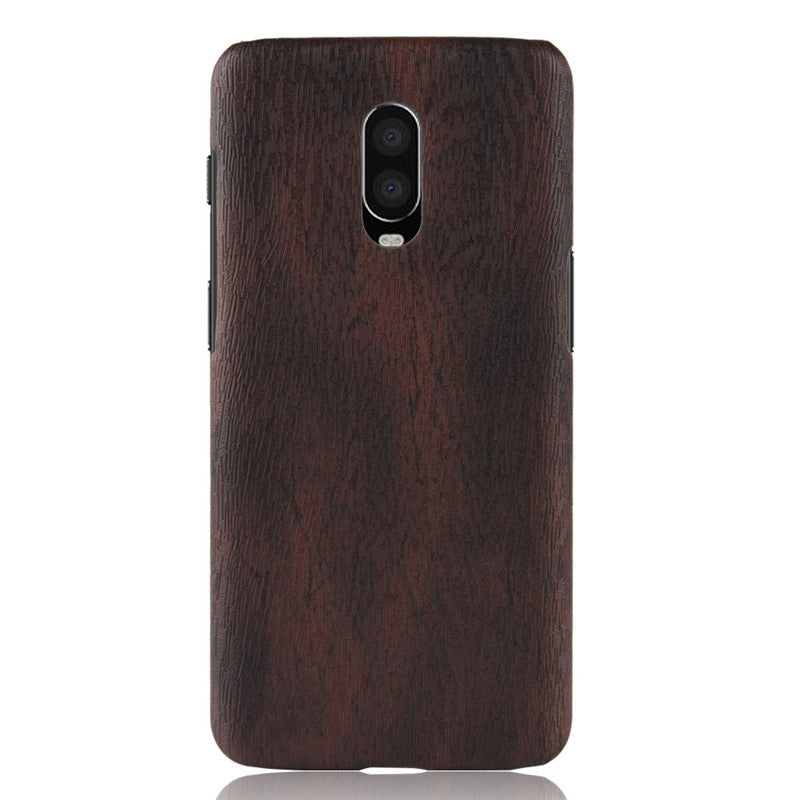 low priced b36ed 7c4bc Oneplus 6t Case Cover One Plus 6t Phone Bag Case Wood Grain Skin PU Leather  Protective Case Cover 1+6t Case