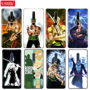 Silicone Cover Phone Case For Nokia 5 3 6 7 PLUS 8 9 /Nokia 6.1 5.1 3.1 2.1 6 2018 One Piece Roronoa Zoro Anime