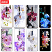Silicone Cover Phone Case For Nokia 5 3 6 7 PLUS 8 9 /Nokia 6.1 5.1 3.1 2.1 6 2018 Orchid Flowers Colorful