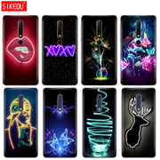 Silicone Cover Phone Case For Nokia 5 3 6 7 PLUS 8 9 /Nokia 6.1 5.1 3.1 2.1 6 2018 Neon Pattern Print