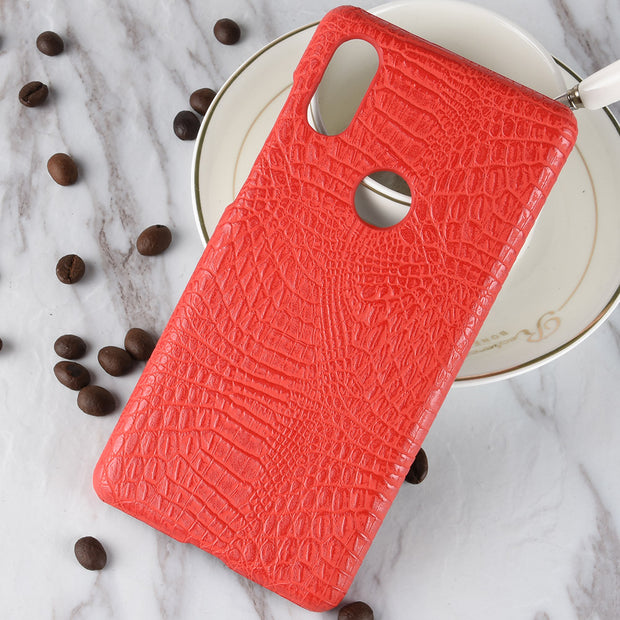 Subin New For Xiaomi Mi Mix 2s Case 5.99inch Retro Luxury PU Leather Hard Crocodile Skin Cover For Xiaomi Mix2s Phone Bag Cases