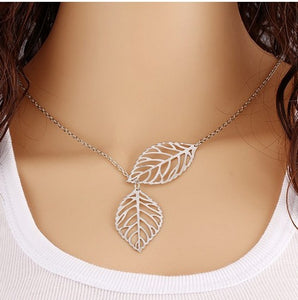 Pendentif Feuilles Sauvages