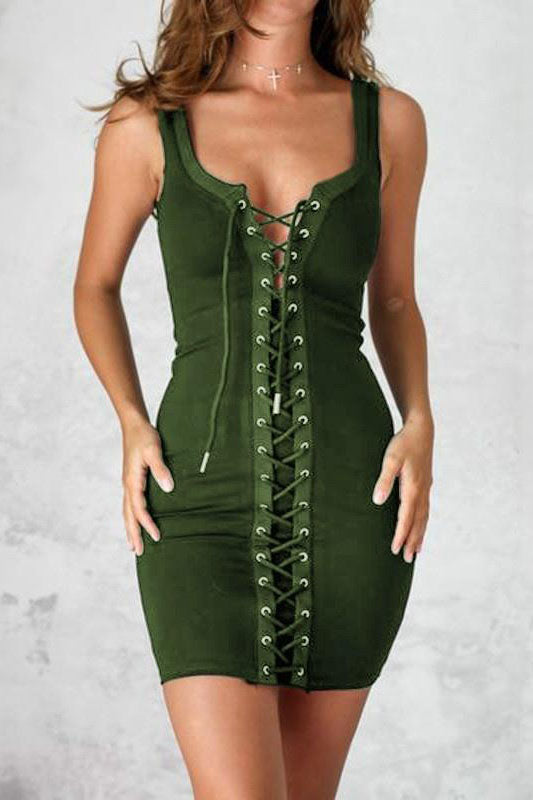 Spaghetti Strap Club Dress