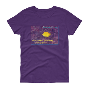 Tu'u'u at home in Alega Women's short sleeve t-shirt