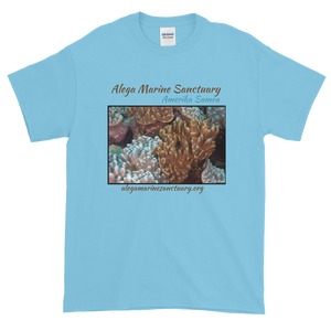 Healthy Coral in Alega Short-Sleeve T-Shirt