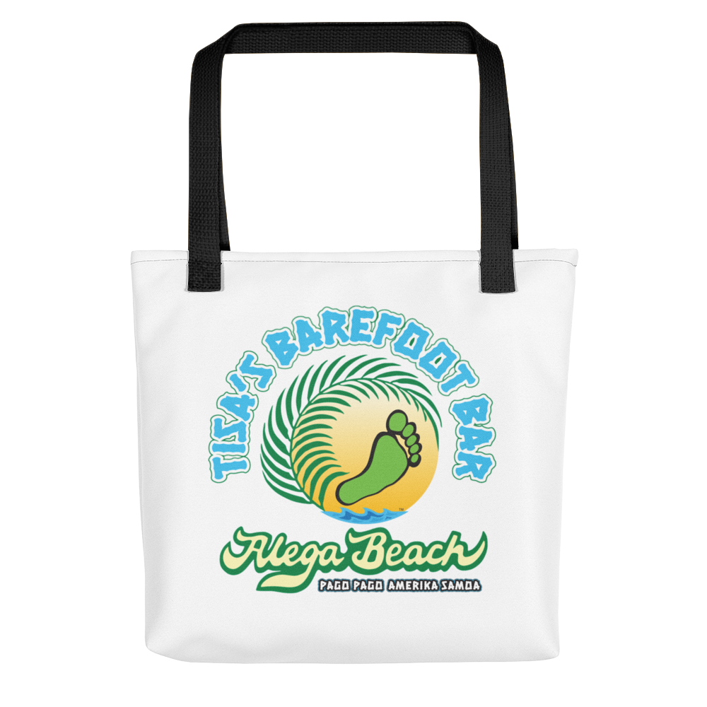 Tisa's Barefoot Bar beach bag