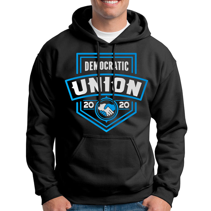 Democratic Union Badge - Unisex Hoodie