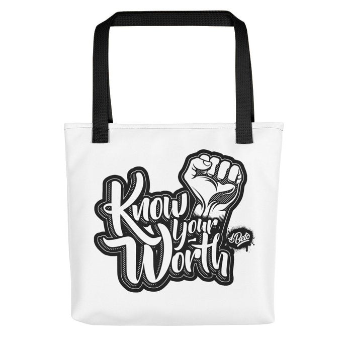 Know Your Worth - Tote bag