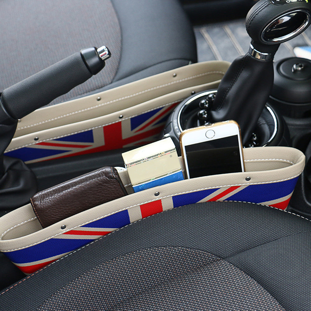2pcs Car Seat Gap Storage Bags.